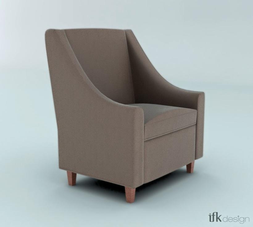 Modélisation 3D Sofa Espagnol